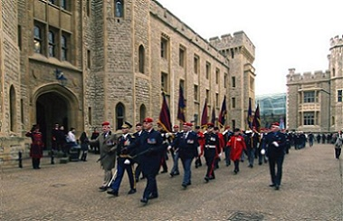 Another wide picture of the RMPA parade column